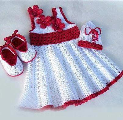 rochie impletita copii