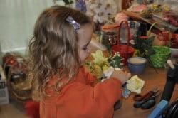 decoratiuni realizate de copii