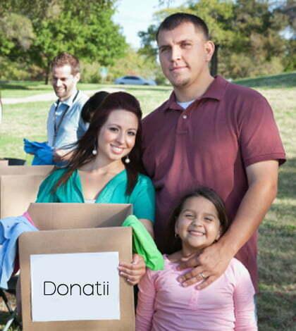 voluntariat si donatii