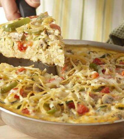 placinta de spaghete