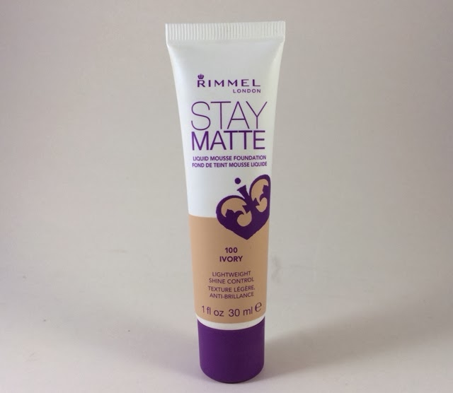 fond de ten stay matte rimmel london