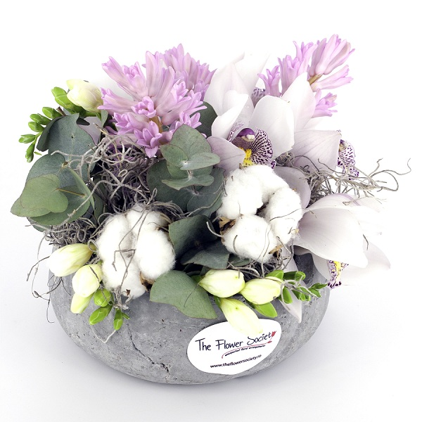 aranjamente florale marca The Flower Society Bucuresti