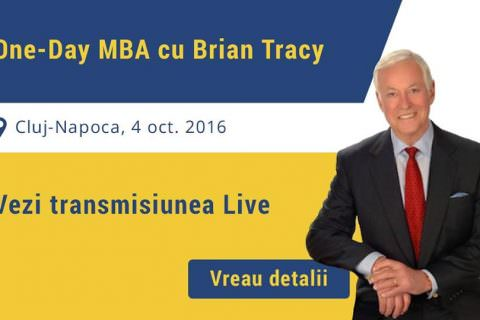 one day MBA cu Brian Tracy