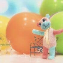 baloane colorate pentru copii