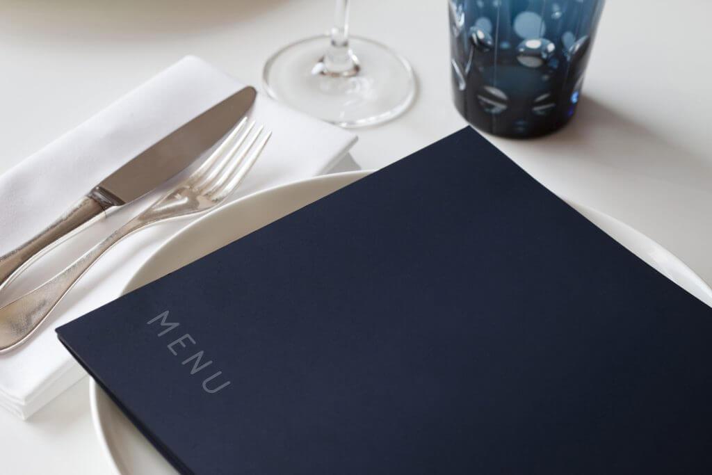 Meniul unui restaurant clasic